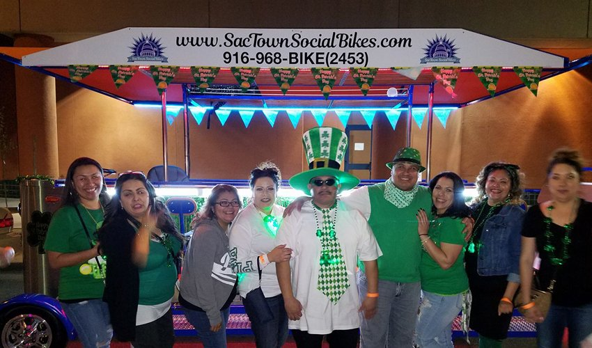March Events Sacramento - Beer Bike Tours