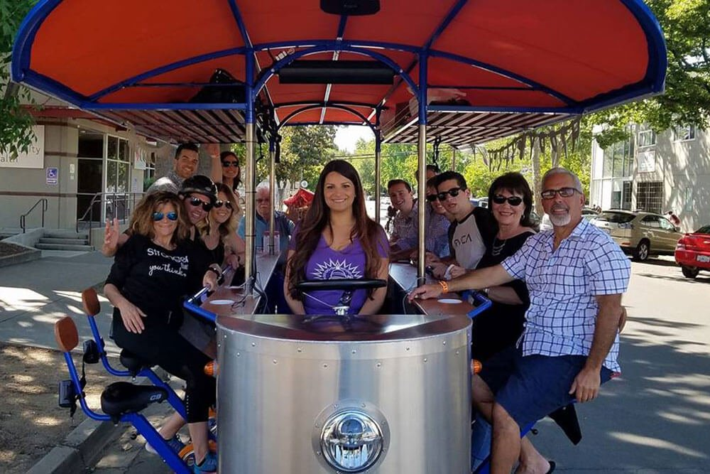 Drink Beer. Bike. Party! Join Us this August in Sacramento - Book Your Event with Sactown Social Bikes