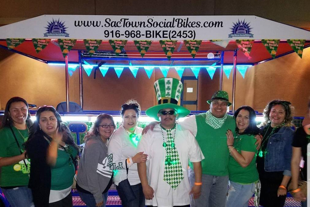 March is here and Spring is in the Air! Join Sactown Social Bikes for BYOB Beer Bike Tours + Sacramento Events For All Ages!